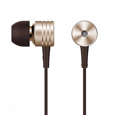 Xiaomi În ureche Cablu Căști Aluminum Alloy Telefon mobil Cască -Izolarea zgomotului / Cu Microfon / Cu controlul volumului Setul cu cască