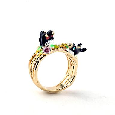 Damen Ring Natur individualisiert Simple Style Aleación Schmuck Für Party Geburtstag Veranstaltung / Fest