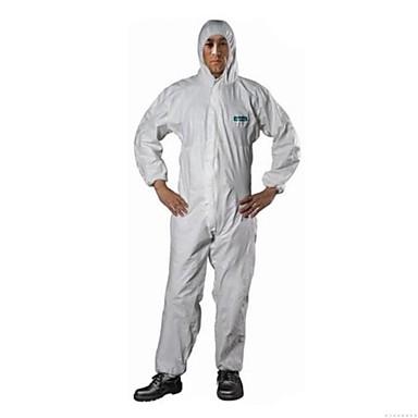 l tekstiviesti sata pölytiivis vaatteet kevyt pöly kemiallisten kemiallinen suojavaatetusta siamese vaatetus