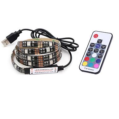 BRELONG® 2m Faixas de Luzes RGB 60 LEDs 5050 SMD RGB Festa / Decorativa 5 V 1pç / IP65
