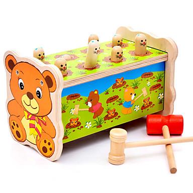 Hammering / Pounding Toy Brinquedo Para Bebê Gopher Game Quadrada Diversão Clássico Para Meninos Brinquedos Dom