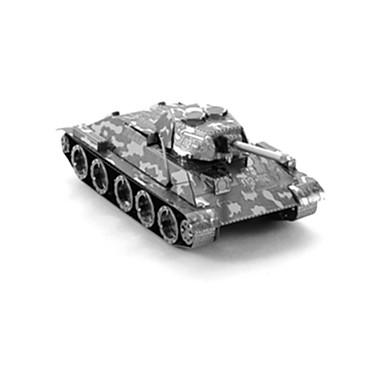 voordelige 3D-puzzels-3D-puzzels Modelbouwsets Tank Plezier Roestvast staal Klassiek Kinderen Unisex Speeltjes Geschenk