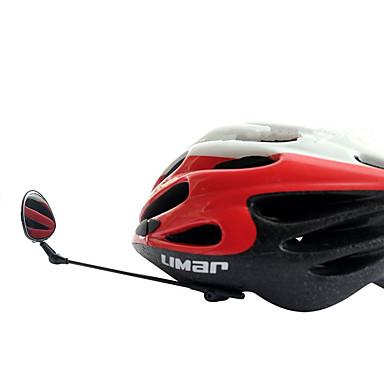 cheap Bike Accessories-Rearview Mirror Bike Helmet Mirror 360°Rolling / Rotatable Flexible Safety For Road Bike Mountain Bike MTB Folding Bike Cycling Bicycle Plastics Ferroalloy