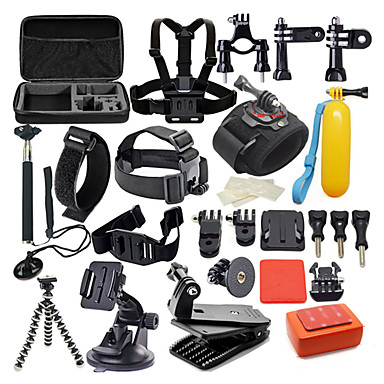 Accessory Kit For Gopro 42 in 1 / Waterproof For Action Camera Gopro 6 / Gopro 5 / Xiaomi Camera Diving / Surfing / Hunting and Fishing