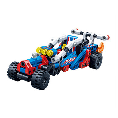 Carros de Brinquedo Blocos de Construir Carrinhos de Fricção Faça Você Mesmo Criativo Carro de Corrida Outros Carro de Corrida Para