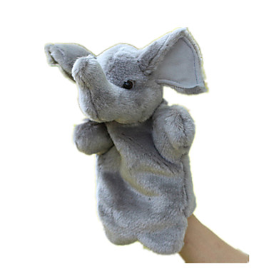 Fantoches de dedo Bonecas Brinquedos Rabbit Animal Animais Tecido Felpudo Bebê Peças
