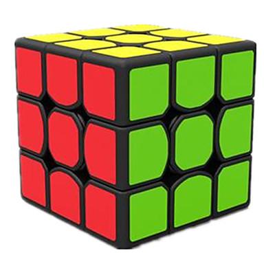 Rubikin kuutio 3*3*3 Tasainen nopeus Cube Rubikin kuutio Puzzle Cube Hauska Neliö Lahja
