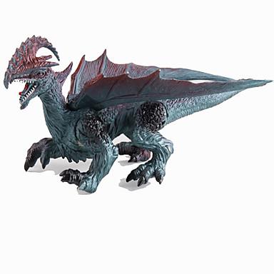 Draci a dinosaury Modele Obrázky dinosaurů Jurský dinosauř Draci Triceratops Tyrannosaurus rex Plastický Dětské Dárek