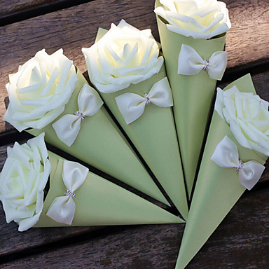 Kreativ Kartonpapier Geschenke Halter mit Randverzierung Geschenkboxen - 1