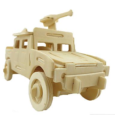 3D puzzle Auto Zábava Dřevo Klasické