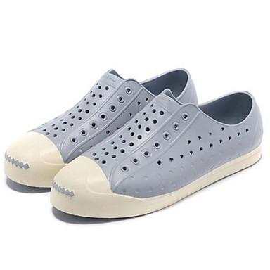 Herren Schuhe Gummi Frühling Komfort Loch Schuhe Loafers & Slip-Ons Für Normal Schokolade Grau Marinenblau