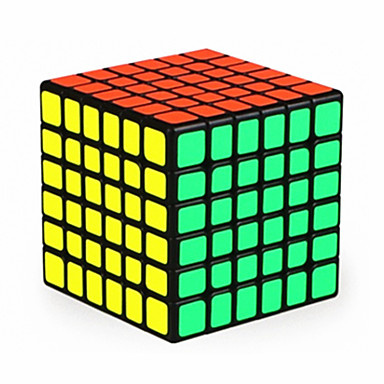 Rubik's Cube QI YI Cubo Macio de Velocidade Cubos mágicos Cubo Mágico Adesivo Liso Concorrência Quadrada Dom Unisexo