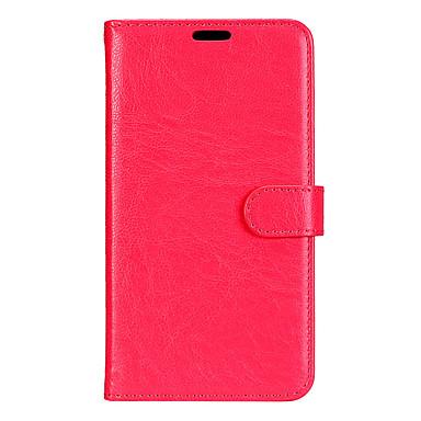 Capinha Para Samsung Galaxy A5(2017) A3(2017) Porta-Cartão Carteira Com Suporte Flip Magnética Capa Proteção Completa Côr Sólida Rígida