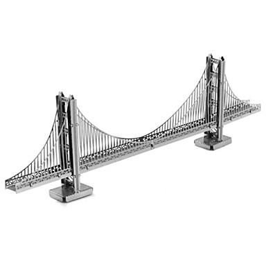 Puzzles 3D - Puzzle Bausteine Spielzeug zum Selbermachen Architektur Metall Model & Building Toy