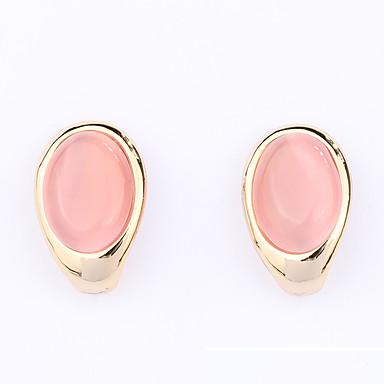 Damen Ohrring Synthetischer Opal Personalisiert Einzigartiges Design Euramerican Modisch Synthetische Edelsteine Aleación Ovale Form