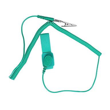 Bao antistatický popruh zelený l10ft karton balení kromě statického odstranění náramek lidského těla elektrostatický náramek / 1