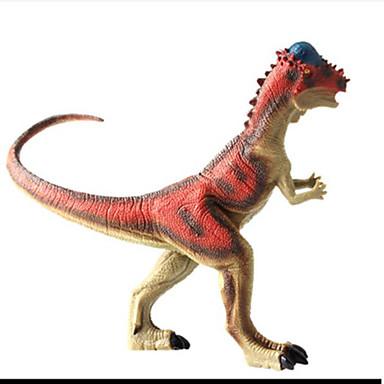 Dragões & Dinossauros Figura do dinossauro Triceratops Dinossauro jurássico Tiranossauro Rex Plástico Crianças Para Meninos Para Meninas Brinquedos Dom