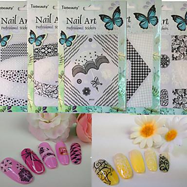 1 Nail Art samolepka make-up Kosmetické Nail Art design