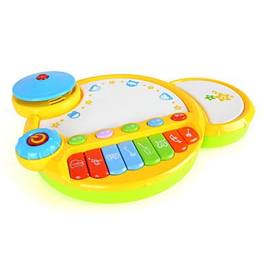 MZ Bateria Brinquedo Educativo Instrumento Musical de Brinquedo Crianças