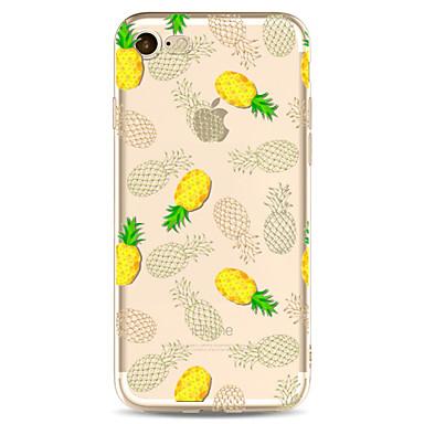 Pro Apple iPhone 7 7 plus 6s 6 plus kryt obal ananasový vzor malovaný vysoký průnik tpu materiál měkký případ telefonní případ