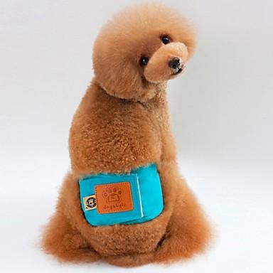 Cachorro Calças Roupas para Cães Sólido Laranja Verde Azul Rosa claro Algodão Ocasiões Especiais Para animais de estimação Homens Mulheres