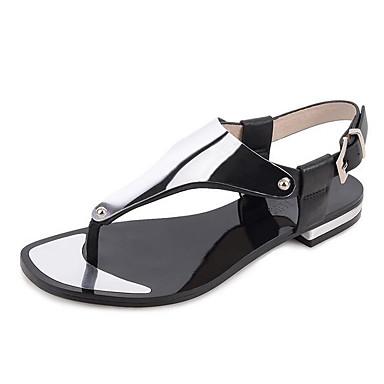 Marron Nappa Cuir Femme Confort Printemps Noir 05962498 Cuir Décontracté pour Chaussures Ballerines twwEqCv