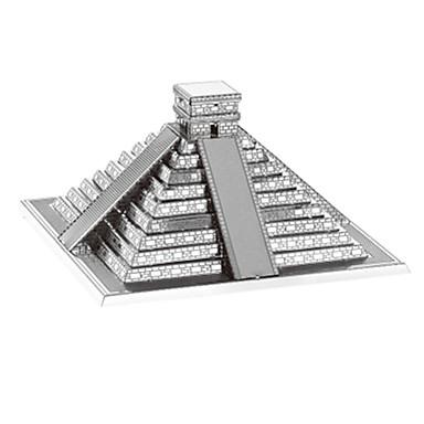 3D puzzle Slavné stavby Zábava Nerez Klasické