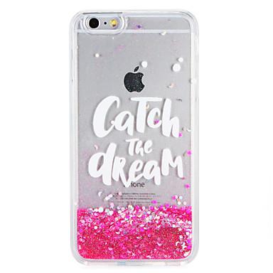 Etui Käyttötarkoitus iPhone 7 iPhone 7 Plus iPhone 6s Plus iPhone 6 Plus iPhone 6s iPhone 6 Apple Virtaava neste Kuvio Takakuori Sana /