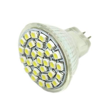 2w g4 gu4 (mr11) gz4 led spotlight mr11 30 smd 3528 140-180lm sıcak beyaz 6000-7500k dc 12v