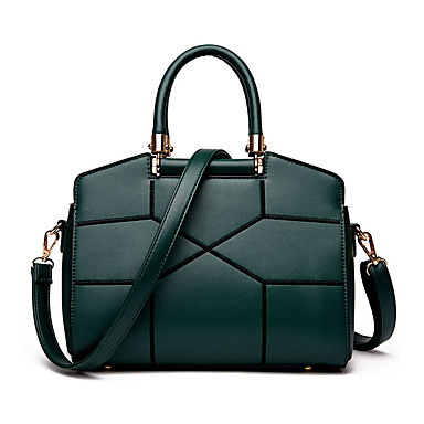 Damen Taschen Winter PU für Formal Grün Schwarz Rosa
