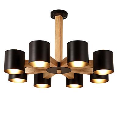 LightMyself™ 8-Light Závěsná světla Světlo dolů - LED, 220-240V / 100-120V Žárovka není zahrnuta v ceně. / 20-30㎡ / E26 / E27