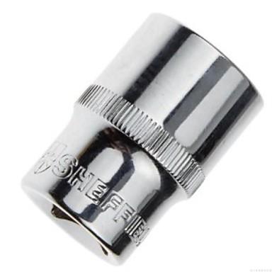 Stahl Schild 12.5mm Serie 100 lange zwölf Winkel teleskopische Hülse m6 100mm / 1