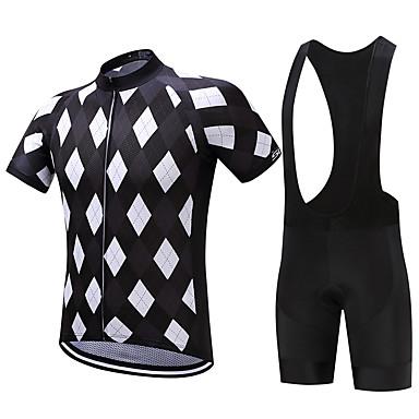 SUREA Fahrradtrikot mit Trägerhosen Herrn Kurzarm Fahhrad Kleidungs-Sets Rasche Trocknung Atmungsaktiv Videokompression Schweißableitend