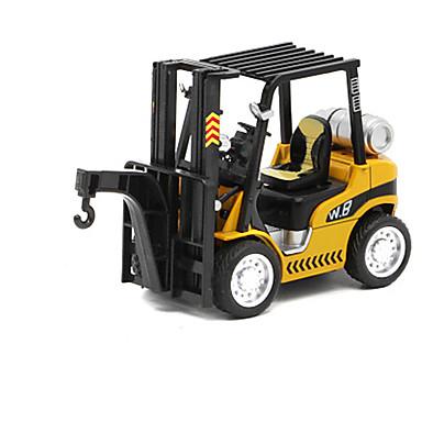 Veiculo de Construção Guindaste Empilhadeira Caminhões & Veículos de Construção Civil Carros de Brinquedo Veículos de Metal Liga de Metal