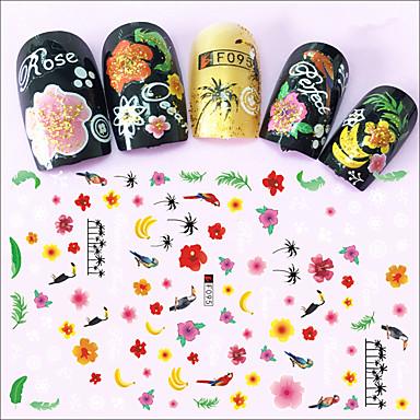 1 Nagel-Kunst-Aufkleber Make-up kosmetische Nagelkunst Design
