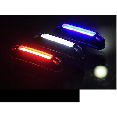Rear Bike Light / Safety Light / Tail Light LED LED Cycling Outdoor, Water Resistant, LED Light USB / Lithium Battery 100 lm USB Natural White / Red / Blue Cycling / Bike