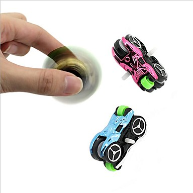 Toy Car Fidget Spinner Hand Spinner Spinning Top Relieves ADD, ADHD, Anxiety, Autism Office Desk Toys Focus Toy Stress and Anxiety Relief