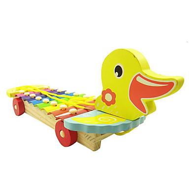 Xylofon Stavební bloky Hračky Zábava Kachna Dřevo Pieces Dětské Dárek