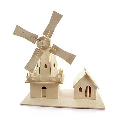 3D - Puzzle Architektur Spaß Holz Klassisch