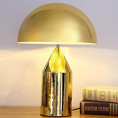 Moderno/Contemporâneo Proteção para os Olhos Luminária de Mesa Para Metal 220V Preto Bronze Dourado