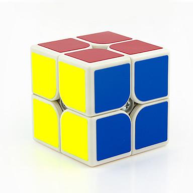 Rubik's Cube 2*2*2 Cubo Macio de Velocidade Cubos mágicos Brinquedo Educativo Antiestresse Cubo Mágico Adesivo Liso PVC ABS Quadrada Dom
