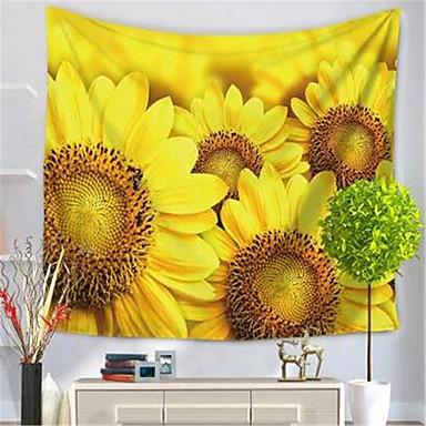 Tema Flores Decoração de Parede Poliéster / Poliamida Clássico Arte de Parede, Tapetes de parede Decoração