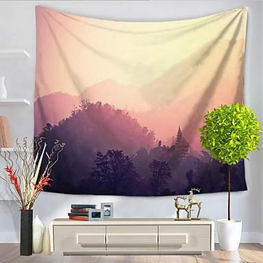 Krajina Wall Decor Polyester / polyamid Se vzorem Wall Art, Nástěnné tapiserie Dekorace