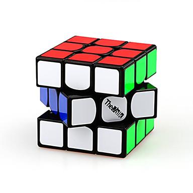 Rubikin kuutio Warrior 3*3*3 Tasainen nopeus Cube Rubikin kuutio Puzzle Cube Muovit Neliö Lahja