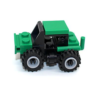ENLIGHTEN Carros de Brinquedo Blocos de Construir pçs Quadrada Caminhão Caminhão Para Meninos Unisexo Brinquedos Dom