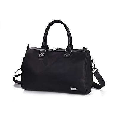 Ženy Tašky Celý rok PU Nylon Cestovní taška s pro Ležérní Podium Klub Černá