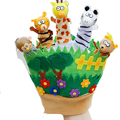 Fantoches de dedo / Fantoches Rabbit Fofinho / Animais / Adorável Tactel / Felpudo Crianças Dom