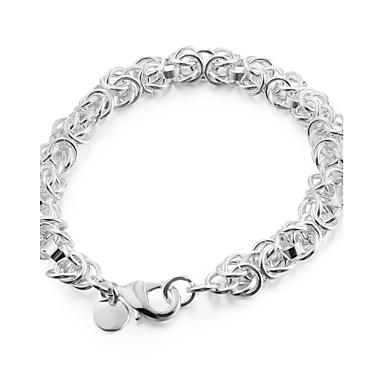 Damen Ketten- & Glieder-Armbänder - versilbert Drache Einzigartiges Design, Modisch Armbänder Silber Für Weihnachts Geschenke / Hochzeit / Party