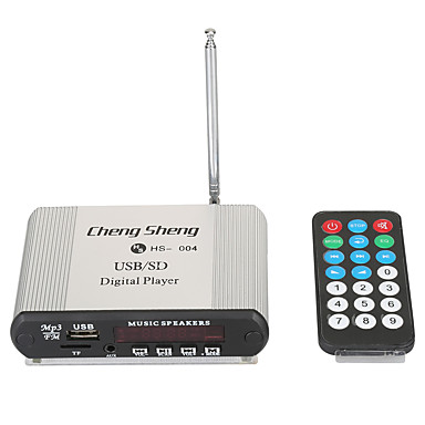 LORCOO HS-004 4.0 polegada Activo Amplificadores 1 pç Desenhado para Universal