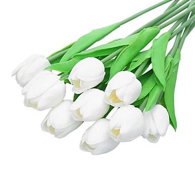 زهور اصطناعية 5 فرع أسلوب بسيط أزهار التولب أزهار الطاولة